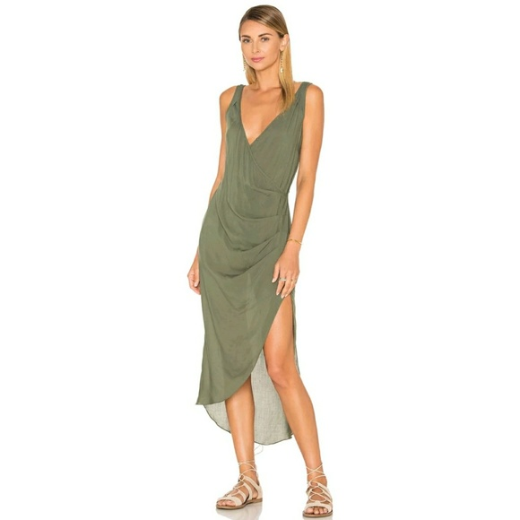 a4afd13e4cb40 Vix Swimwear Kristin Caftan Military Cover Up. M_5a73e4955521be9f6a4d67e6